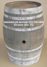Used wine barrels / drums