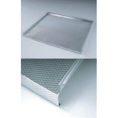 De aluminio de la bandeja para debajo del fregadero for Fregaderos de aluminio