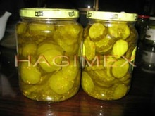 VIETNAM CANNED PICLEKED SLICED CUCUMBERS/GHERKINS