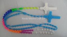 Fashionable novelty fashion silicone necklace jewelry
