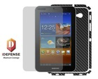 Invisible Carbon Fiber Shield for Samsung Galaxy Tab 7 Plus