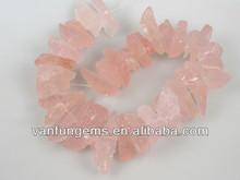 Natural rough stone Madagascar rose quartz VanFun Gems