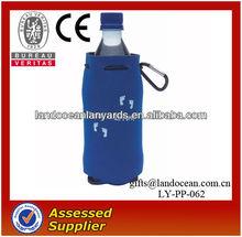 drawsting water bottle neoprene cover