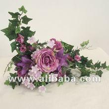 Artificial Silk Rose Table Arrangement Bouquet