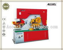 Q35Y Hydraulic iron worker price, hydraulic press punch, hydraulic steel angle cutter