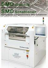 Laser cut SMT stencil