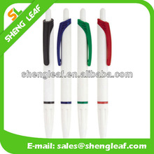 White pen with other colors ball pen refill