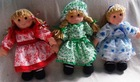 Fabric soft dolls