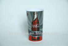 3D lenticular metallic printed cup