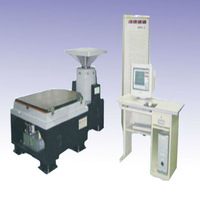 Factory with electromagnetic frequency vibration table