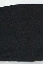 COTTON DK INDIGO/BLACK SLUB DENIM