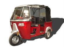 BAJAJ new red three wheel motorcycle