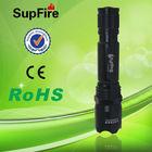 China SupFire waterproof rechargeable aluminum led flashlight