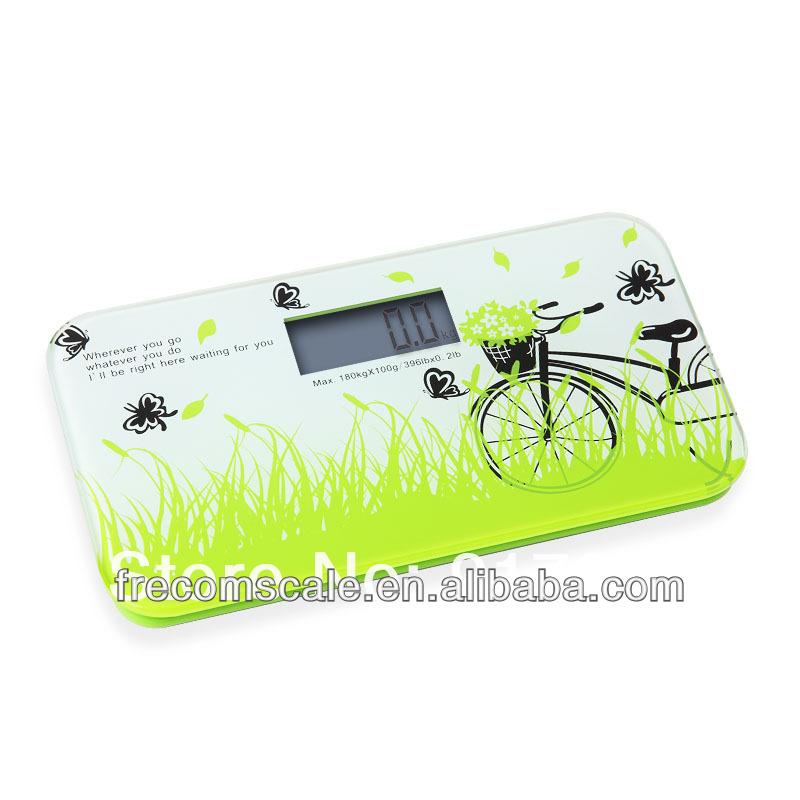 CR2032 battery 180kg digital body bathroom home scale