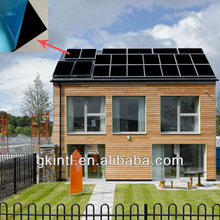 Black chrome plated copper thermal solar product