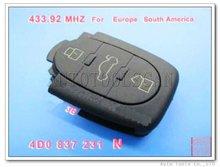 Hot Sale Car Key for Audi 3 button 433Mhz Remote Key 4DO 837 231 N [ AK008001 ]
