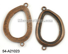29*44mm copper tone jewelry alloy connector