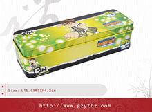 Child pencil tin writing case