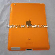 Transparent hard PC case for iPad 2 3