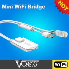 Worldwide 2013 NEWEST Dragon Mini WiFi Bridge Repeater+VONETS partner of wifi home alarm system