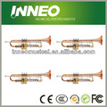 Profesional de cobre amarillo de oro barato de la trompeta