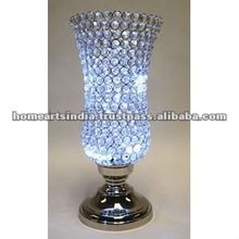 GLOBE Silver Plated crystal FOR wedding center piece