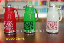 1.0L/1.3L /1.6L/1.9L Vacuum Flask /Coffee pot /Thermos / Water bottle, Plastic body, glass liner/glass refill