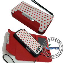 Polka Dot 2 in 1 Dual purpose Wallet Leather Case for Samsung Galaxy S3 SIII i9300