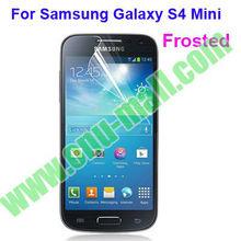 Anti Glare Matte Frosted Screen Protector for Samsung Galaxy S4 Mini / i9190/ i9192(Clear/Matte/HD/Mirror/Diamond,etc)
