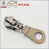 zipper silder in antique nickel color for 5# metal zipper