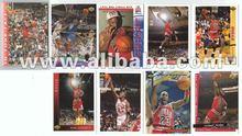 Michael Jordan UD He's back 9 Card Complete Basketball Trading Set lot