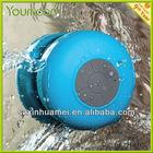 MIni stereo music box waterproof bluetooth showering speaker BTS-06