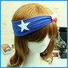 fashional bandana headband cotton star headband