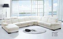 morden leather leisure sofa