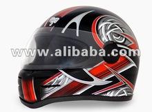 Full Face Helmet, Safety Helmet, Helmet for Motorcycle, ISI - DOT Helmet, Helmet, Indian Vega Helmet