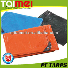 Polyethylene Fabric Tarpaulin with Different Color