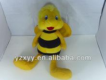 2013 new design soft stuffed toy bee/plush honey bee toys