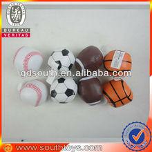 """2"""" soccer ball,basketball,football,tennis ball soft toy ball"""