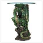 Alabastrite Dragon End Table