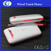 Colorful mini slim protable wired mouse with usb GET-ML007