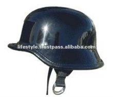 Novelty Helmets, Matt Finish Helmets, Shine Finish Helmets, Leather Covered Helmets
