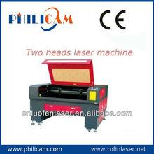 New design!PHILICAM High precision two heads laser machine