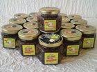 Black truffles in honey