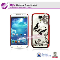Butterfly pattern pc hard mobile case for samsung galaxy s4 i9500