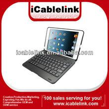 For ipad mini wirelss keyboard with case ,folio v3.0 bluetooth keyboard for ipad mini