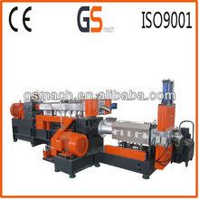 GS65 pvc machine Twin/Single Screw Extruder plastic granulators for sale