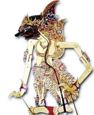 Wayang Kulit Bima (Java Puppet 'Duryadana')