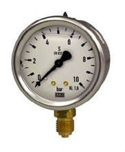Pressure Gauge 63mm, rimless