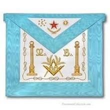 Regalia Masonic Apron, Collar,CUFF Hand made Embroidery