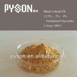 High quality Black Cohosh P.E2.5% 5% 8%